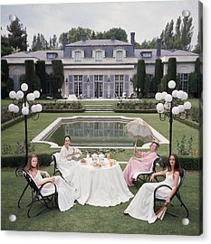 The Romanones Acrylic Print by Slim Aarons