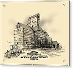 The Ross Elevator Version 2 Acrylic Print