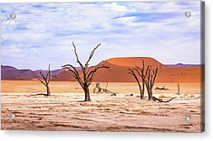The Sands Of Time Acrylic Print