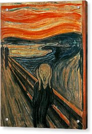 The Scream  Acrylic Print