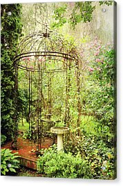 The Secret Garden Acrylic Print