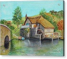 The Shire Acrylic Print