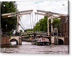The Skinny Bridge Amsterdam Acrylic Print