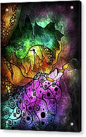 The Sleeping Beauty Acrylic Print