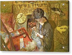 The Small Drawing-room - Digital Remastered Edition Acrylic Print