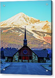 Acrylic Print featuring the photograph The Soldiers Chapel by Pete Federico