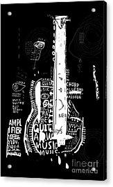 The Symbolic Image Of An Acoustic Acrylic Print