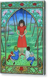 The Teacher Acrylic Print