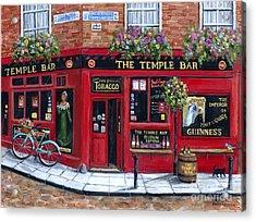 The Temple Bar Acrylic Print