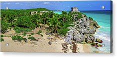The Temple By The Sea Acrylic Print