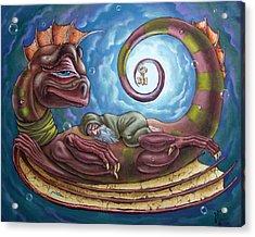 The Third Dream Of A Celestial Dragon Acrylic Print