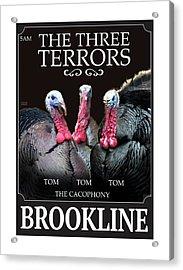 The Three Terrors Acrylic Print