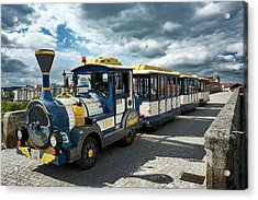 The Touristic Train Of Ourense Acrylic Print