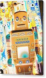The Transistor Bot Acrylic Print