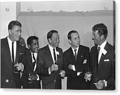 The Usual Rat Pack Acrylic Print