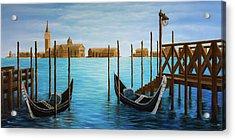 The Venetian Phoenix Acrylic Print