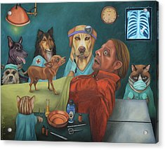 The Vet's Worst Nightmare Acrylic Print