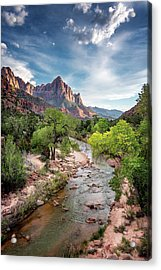 Acrylic Print featuring the photograph The Watchman by Ryan Wyckoff