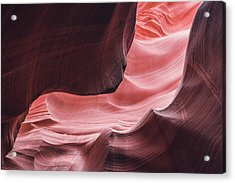 The Wave, Lower Antelope Canyon, Page, Az  Acrylic Print