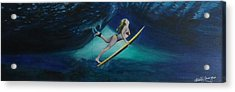 The Wedge - Duck Dive Acrylic Print