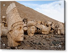 The West Terrace Of Mount Nemrut With Acrylic Print