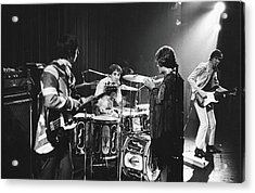 The Who At The Fillmore East Acrylic Print by Fred W. McDarrah