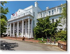 The Willcox Hotel - Aiken Sc Acrylic Print