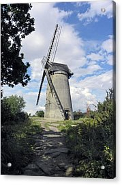 The Wirral. The Windmill On Bidston Hill. Acrylic Print