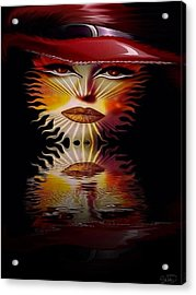 The Wizard Lady Of The Sun Acrylic Print