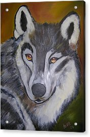The Wolf Acrylic Print