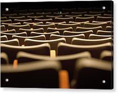 Theater Seats Acrylic Print