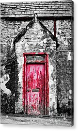 Acrylic Print featuring the photograph This Old House by Tim Gainey