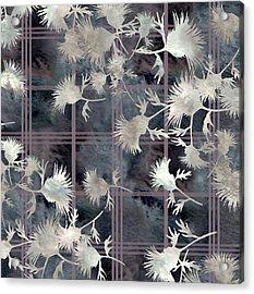 Thistle Plaid  Acrylic Print