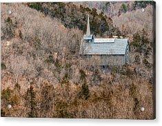 Thorncrown Worship Center Architecture And Landscape - Eureka Springs Arkansas Acrylic Print