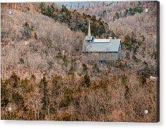 Thorncrown Worship Center Of The Ozark Mountains - Eureka Springs Arkansas Acrylic Print