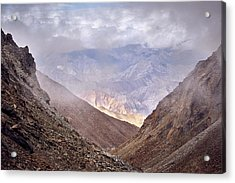 Acrylic Print featuring the photograph Through The Valley by Whitney Goodey