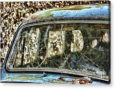 Through The Windshield Acrylic Print