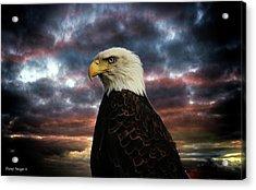 Thunder Eagle Acrylic Print