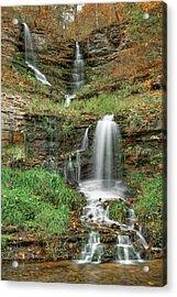 Thunder Falls - Dogwood Canyon Nature Park - Missouri Acrylic Print