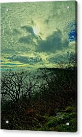 Thunder Mountain Clouds Acrylic Print