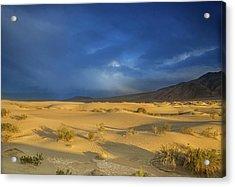 Thunder Over The Desert Acrylic Print