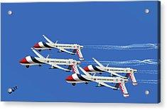 Thunderbird Drones Acrylic Print