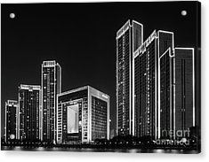 Tianjin Skyline Acrylic Print
