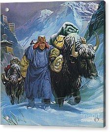 Tibet Acrylic Print
