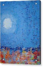 Tidepool Original Painting Sold Acrylic Print