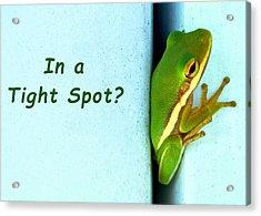 Tight Spot Acrylic Print