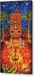 Tiki Cocktail Hour Acrylic Print