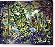 Tiki Genie's Sacred Pools Acrylic Print
