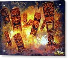 Tiki Hot Spot Acrylic Print