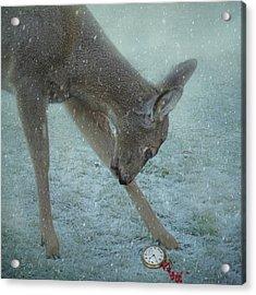 Time For Christmas Acrylic Print